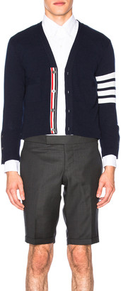 Thom Browne Classic Cashmere Cardigan in Navy | FWRD