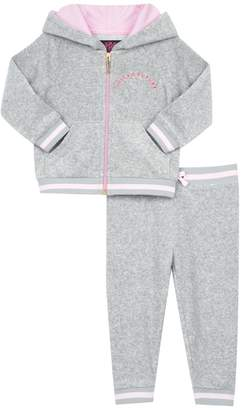 Juicy Couture Micro Terry La Sunset Track Set For Baby