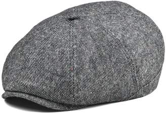 e1246114c99 VOBOOM Mens Wool Blend Newsboy Cap 8 Pannel Hat Tweed Cap Herringbone  Cabbie Flat Cap