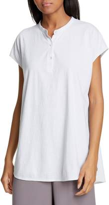 Eileen Fisher High/Low Organic Cotton Tunic