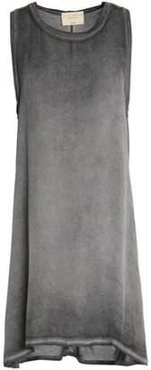 Alice + Olivia Alice+olivia Asymmetric Faded Silk-Jersey Mini Dress