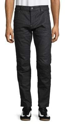 G Star Slim-Fit Zip Knee Jeans