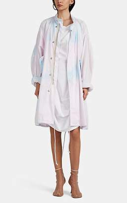 MM6 MAISON MARGIELA Women's Tie-Dyed Cotton Oversized Field Jacket - Rose