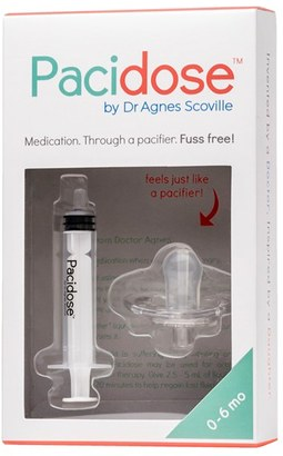 Infant Pacidose Pacifier Medicine Syringe $12.99 thestylecure.com