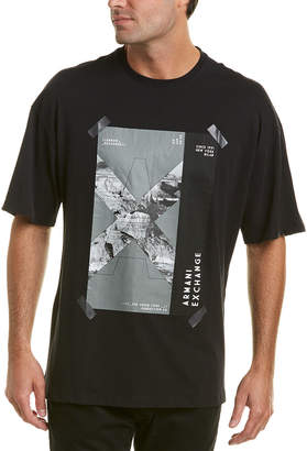 Armani Exchange Desert Graphic T-Shirt