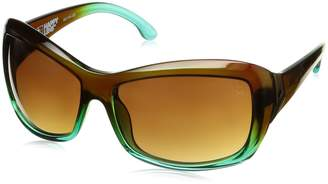 SPY Optic Women's Farrah 673011552885 Polarized Oval Sunglasses