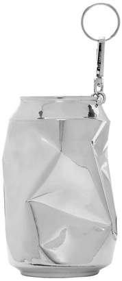 Raf Simons Silver Half Crushed Can Keychain
