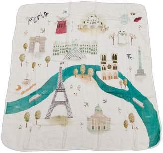 Loulou Lollipop Paris Deluxe Muslin Swaddle Blanket