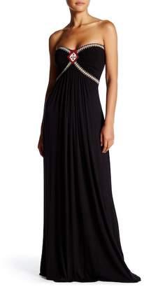 Sky Abdou Beaded Maxi Dress
