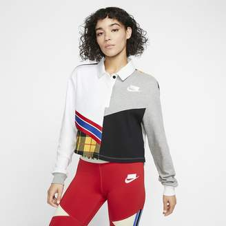 Nike Women's Long-Sleeve Polo Sportswear