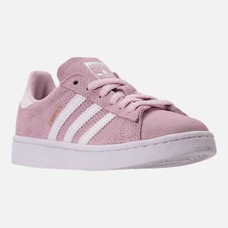 adidas Girls' Grade School Campus adicolor Casual Shoes