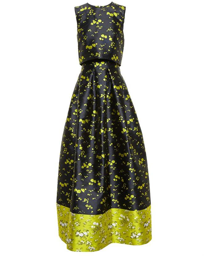 ERDEM Mildred Floral Gown