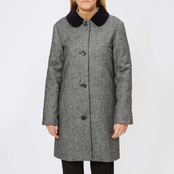 Women's Poupee Coat Anthracite Chine