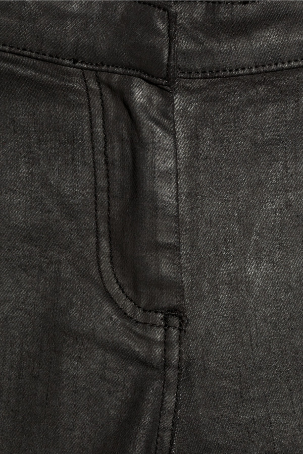 McQ Coated motocross-style jeans