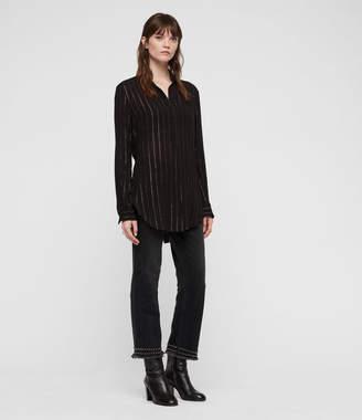 AllSaints Keri Stripe Shirt