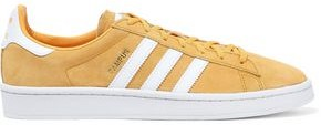 adidas Campus Leather-appliqued Suede Sneakers