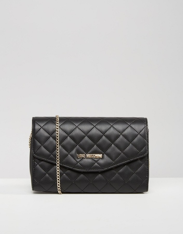 Love MoschinoLove Moschino Quilted Chain Shoulder Bag