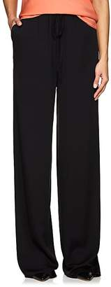 The Row Women's JR Stretch-Silk Wide-Leg Pants