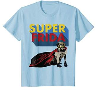 Golden Retriever Rescue Dog Super Frida Hero T-Shirt Gift
