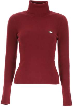 See by Chloe Turtleneck With Logo