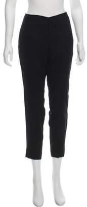 Helmut Lang Mid-Rise Skinny Pants Black Mid-Rise Skinny Pants