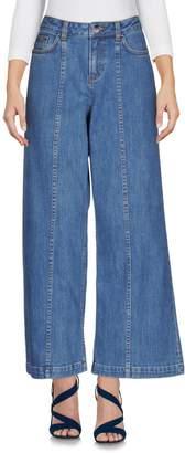 Saloni Denim pants - Item 42594488FT