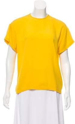 Michael Kors Short Sleeve Crew Neck Top