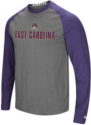 Colosseum Men East Carolina Pirates Social Skills Long Sleeve Raglan Top