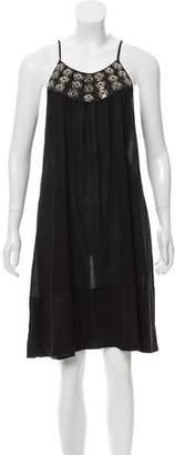 Thomas Wylde Sleeveless Knee-Length Dress