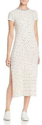 Three Dots Stripe Midi Dress