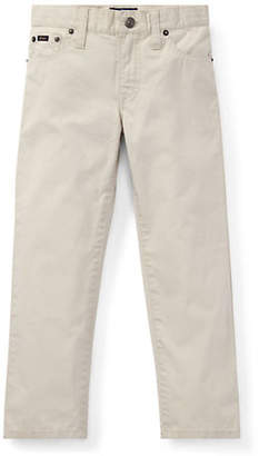 Ralph Lauren Little Boy's Kid's Varick Slim-Fit Cotton Pants