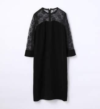 TOMORROWLAND (トゥモローランド) - トゥモローランド sophistique′ FLICKA レース切り換えドレス