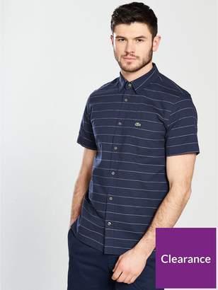 Lacoste Sportswear Short Sleeve Stripe Shirt