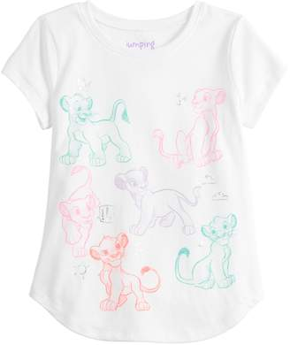 Simba Disneyjumping Beans Disney's The Lion King & Nala Girls 4-12 Graphic Tee by Jumping Beans
