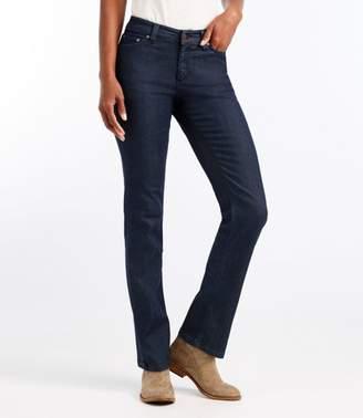 L.L. Bean L.L.Bean True Shape Lightweight Jeans, Classic Fit Straight-Leg