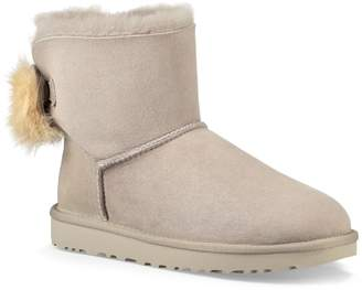 UGG Mini Fluff Bow Genuine Shearling Boot