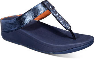 FitFlop Fino Glitzy Thong Sandals Women Shoes