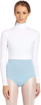 Capezio Women's Turtleneck Long Sleeve Top