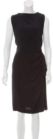 Christian Dior Sleeveless Knit Midi Dress