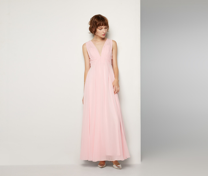 Light Pink Evening Dress - ShopStyle Australia