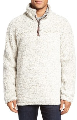 Men's True Grit High Pile Quarter Zip Pullover $145 thestylecure.com