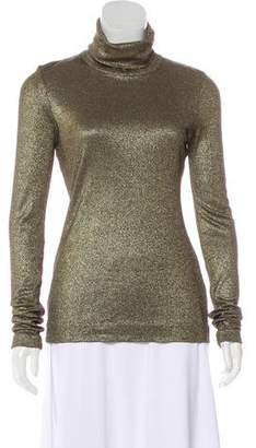 Diane von Furstenberg Long Sleeve Turtleneck Sweater
