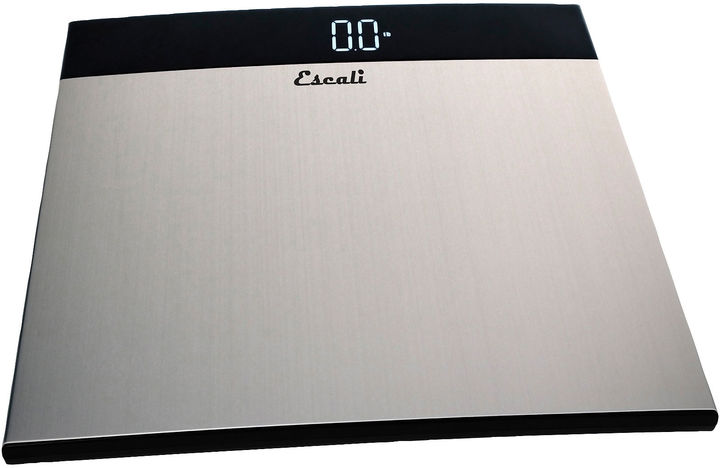 Escali Ultra Slim Stainless Steel Body Weight Scale S200