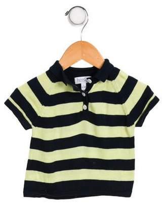 Baby CZ Boys' Striped Polo Shirt