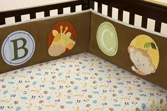 Kids Line Fitted Crib Sheet: Peek-a-boo Pals by