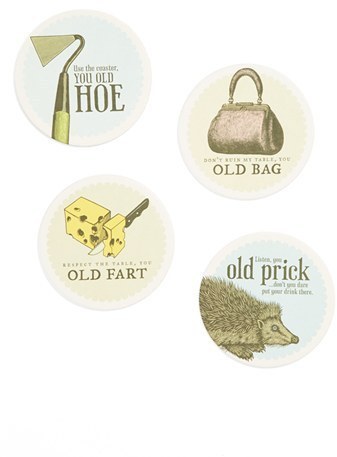 Breathless Paper Co. 'Not Your Momma's' Coasters (Set of 8)