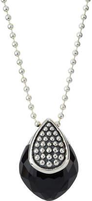 Lagos Maya Long Onyx Doublet Pendant Necklace