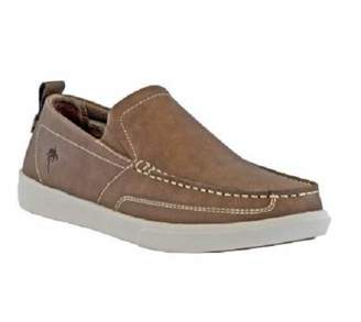 Margaritaville Men's Current Leather Slip On Shoe Boat