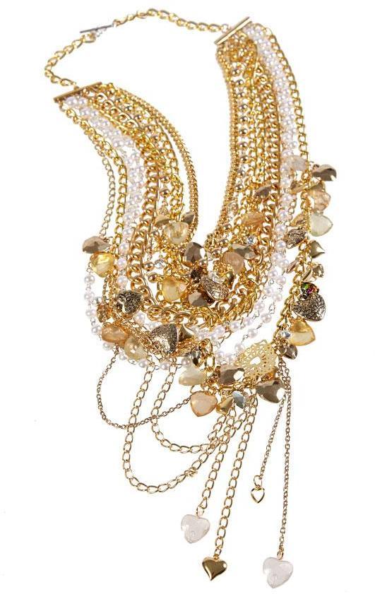 Assad Mounser Gilded Valentine Necklace