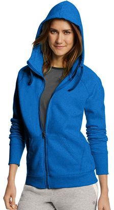 Women's Champion Fleece Full-Zip Hoodie $45 thestylecure.com